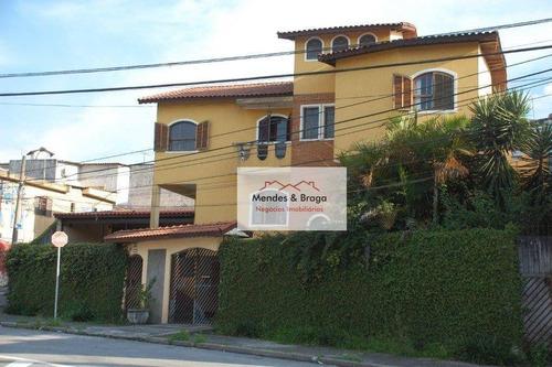Sobrado À Venda, 363 M² Por R$ 870.000,00 - Paraventi - Guarulhos/sp - So0212