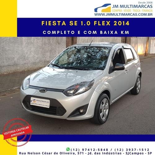 Imagem 1 de 10 de Fiesta Se 1.0 Flex 2014 Completíssimo E Com Baixa Km