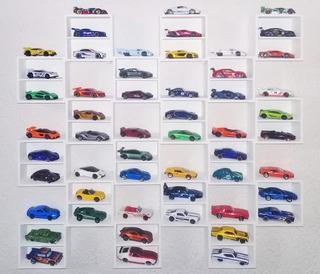 Repisa Para Hot Wheels 54 Autos