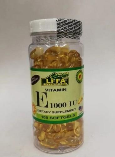 2 X Vitamina E 1000 Iu Alfa 100 Softgel - L a $175