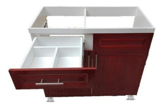 Mueble Fregadero De 1 M Con Accesorios