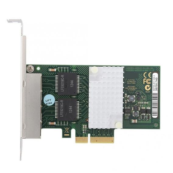 Placa De Rede Intel I340 T4 Quad 4 Portas Pcie X4 Gigabit