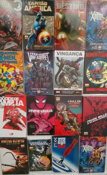Coleção De Revistas Marvel - Novas E Lacradas - Frete Grátis