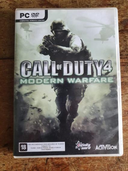 Jogo Call Of Duty 4
