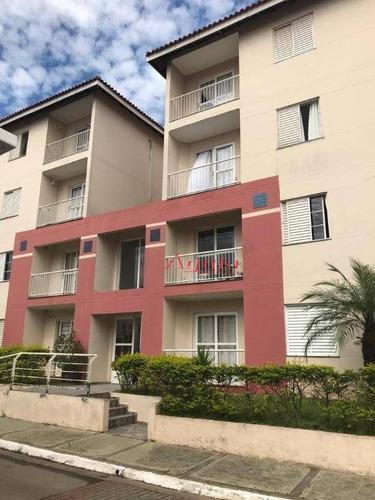 Apartamento Com 3 Dormitórios À Venda, 60 M² Por R$ 310.000,00 - Utinga - Santo André/sp - Ap1665