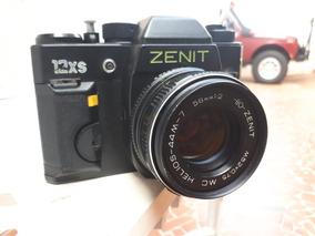 Zenit 12xs Com Lente Helios 44m7