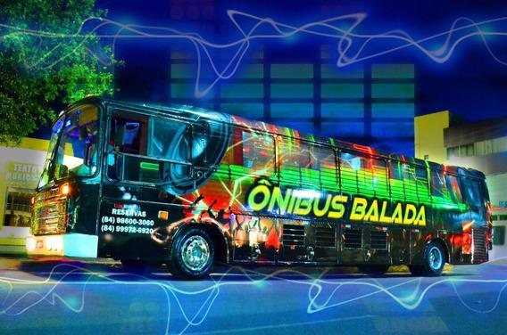 Ônibus Balada Top De Linha