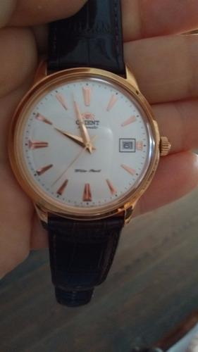 Reloj Orient Automatico Enchapado
