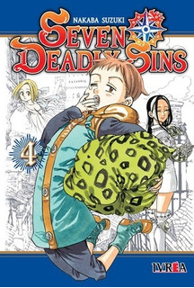 Manga The Seven Deadly Sins # 04 - Nakaba Suzuki