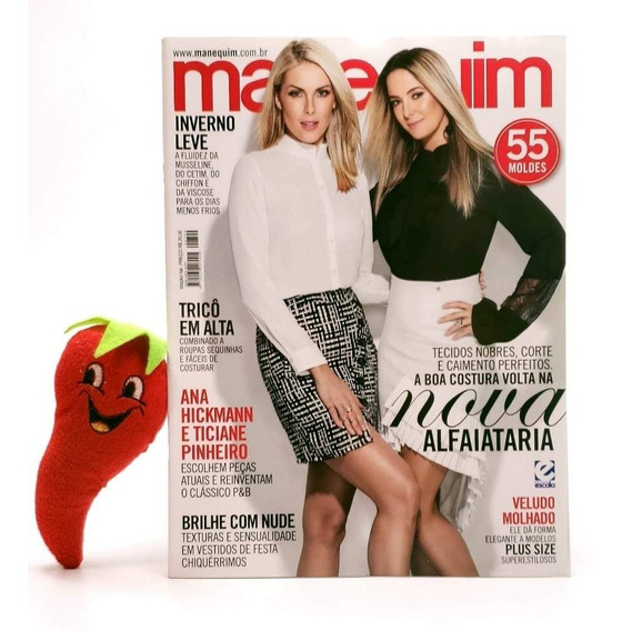 Revista Manequim Nova Alfaiataria N° 709 Ana Hickmann