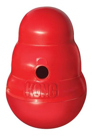 Brinquedo Kong Wobbler Small Para Cães Pequeno E Médio