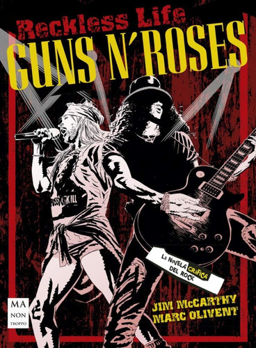 Imagen 1 de 3 de Guns N Roses - Reckless Life, Mc Carthy, Robin Book