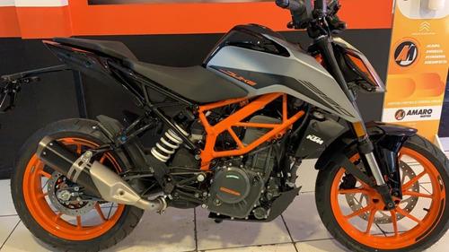 Imagem 1 de 15 de Ktm Duke 390 2022 Prata .... Lançamento Só Na Amaro Motos