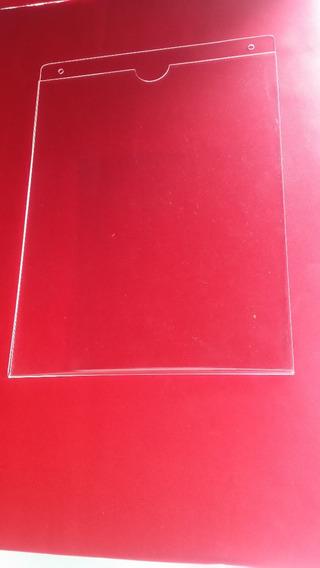 10 Portadocumento De Acrilico 2mm $1050 Tamaño Carta