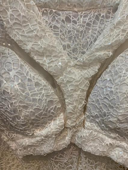 Conjunto Crooped E Calça Luxo Panicat Balada Paetê