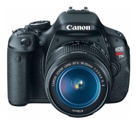 Canon T3i Com Lente E 18-55mm Completinha