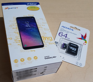 Nuevo.sellado Samsung Galxy A6plus Desbloq. C/ Microsd 64gb