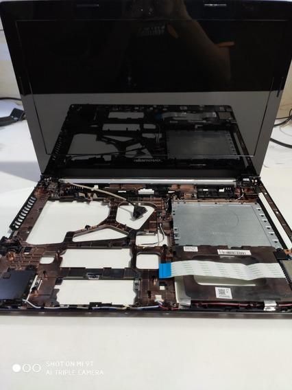 Tela Completa + Carcaça Inf. Do Notebook Lenovo G40 70 #2755