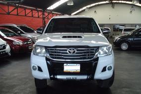 Toyota Hilux Srv 3.0 4x2 Cuero 2012 Blanca