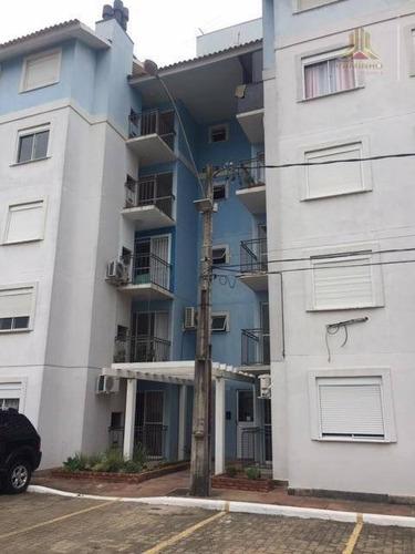 Imagem 1 de 11 de Vendo Apartamento De Dois Dormitórios Com Garagem, Sacada , Churrasqueira, Bairro Igara Em Canoas - Ap3787