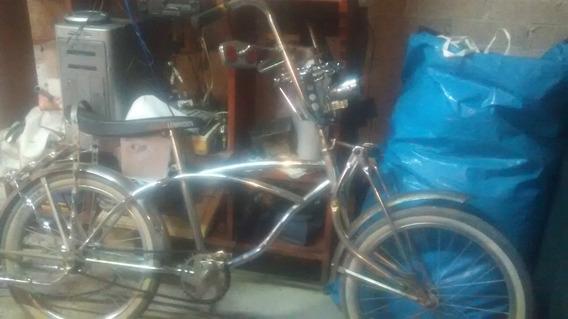 Lowrider Bicicleta Cromada Origimal