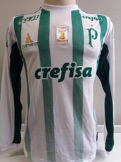 deff34ad5a Camisa Palmeiras Manga Longa Branca no Mercado Livre Brasil