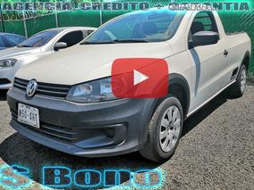 Volkswagen Saveiro 1.6 Starline Mt Credito + Garantia Agenci