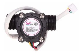 Sensor De Fluxo Vazão De Água 1/2 Yf-s201 - Pronta Entrega!