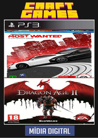 Need For Speed Most Wanted + Dragon Age 2 Ps3 Psn Digital
