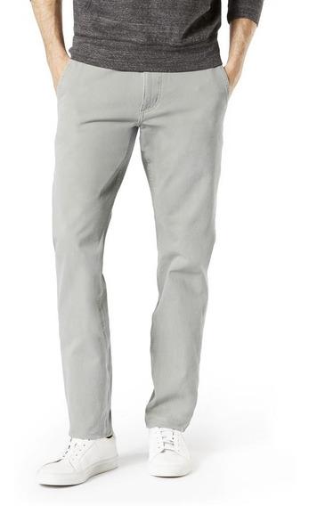 Oferta Pantalón Dockers® Hombre Gris Alpha Khaki 360 Vetiver