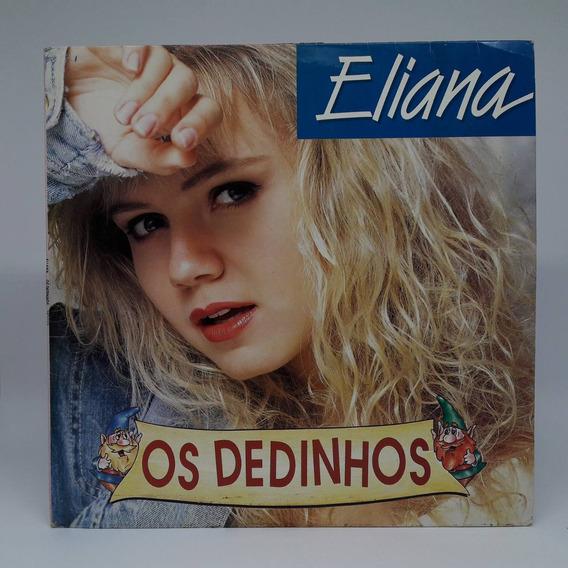Lp Disco De Vinil Eliana Dedinhos Infantil