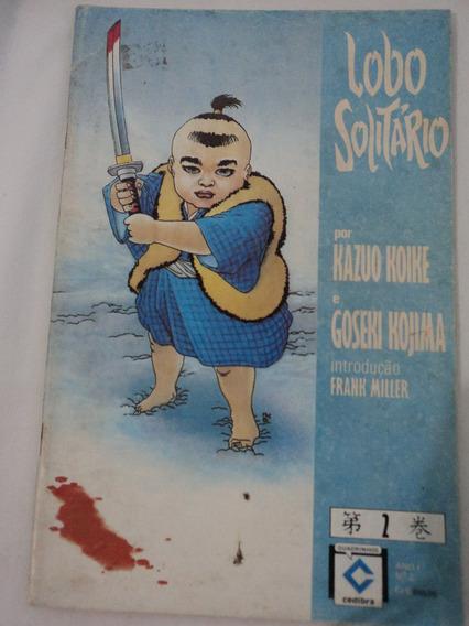 Hq-mangá:lobo Solitário:vol.2-ano 1:kazuo Koike,frank Miller
