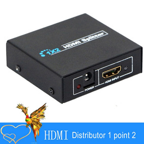 Splitter Switcher Portátil Hd 4k Mini Hdmi Preto
