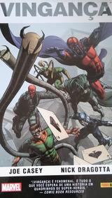 Vingança Marvel Graphic Novel Magneto Caveira Vermelha Loki