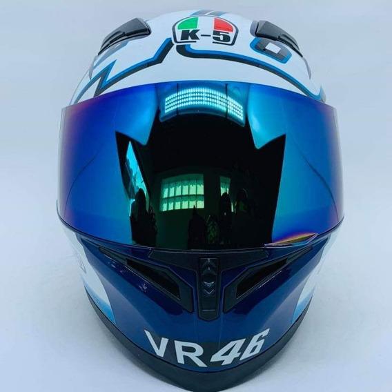 Valentino Rossi K5 Japonês Mais Viseira Extra