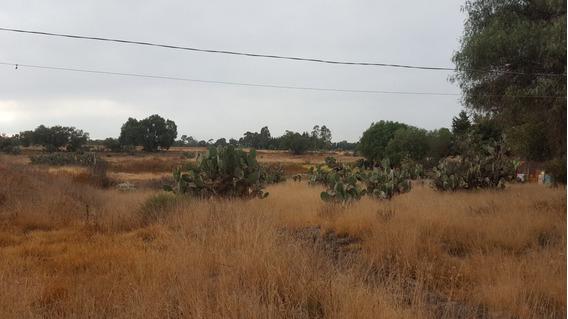 Terreno En Zumpango, Cerca Hosp Alta Esp. Y Nuevo Pal Munici