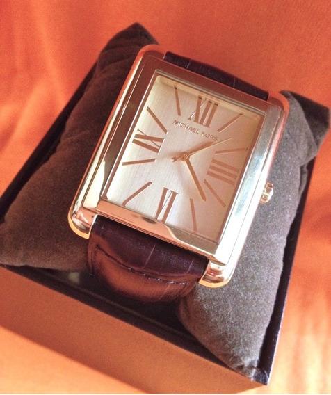 Relógio Michael Kors Mk2246 Couro Original Promoção F Gratis