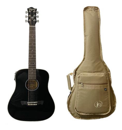 Violão Tagima Baby Woodstock Tw-15 Bk C/ Bag