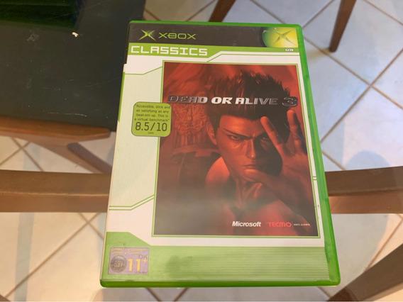 Dead Or Alive 3 Xbox Clássico