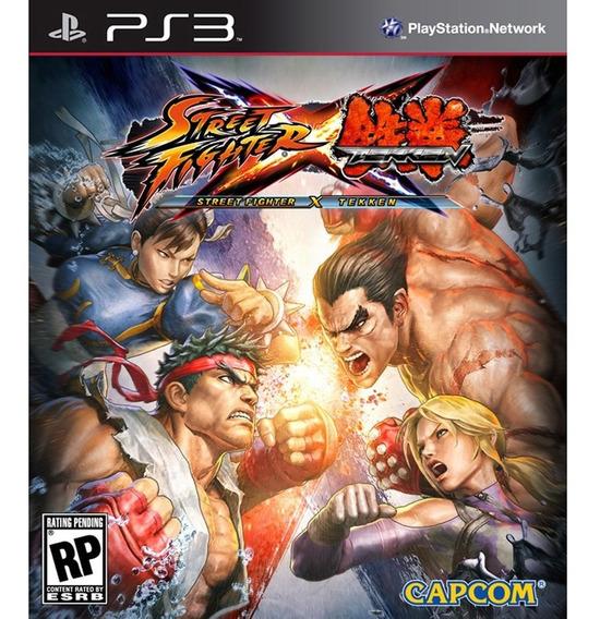 Game Play3 - Street Fight X Tekken - Semi-novo Jogo Ps3