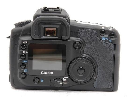 Câmera Canon 20d Corpo + Grip, 1 Baterias E Carregador.