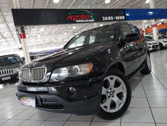 Bmw X5 4.4 I 4x4 V8 2002 Blindada E Gnv