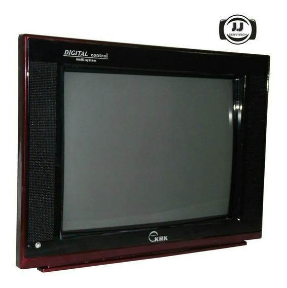 Televisor Tv Krk 14p A Color M Ctv-14t9 Catv 200 Canales Rca
