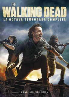 Dvd - The Walking Dead - Temporada 8