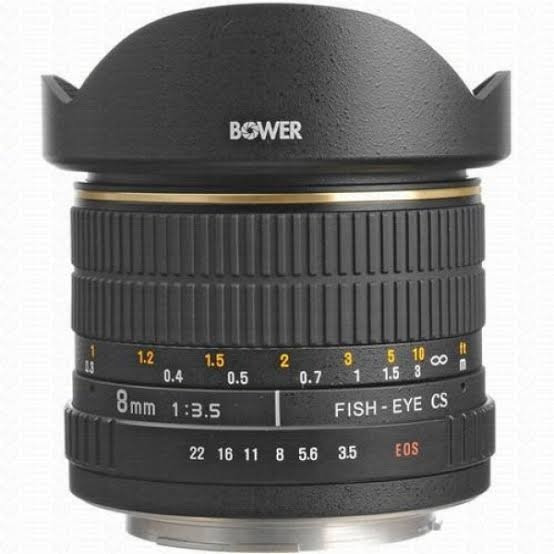 Bower 8mm Lente Olho D Peixe Fisheye Niko