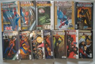 Gibis Marvel Millenium Editora Panini Lote Com 61 Gibis