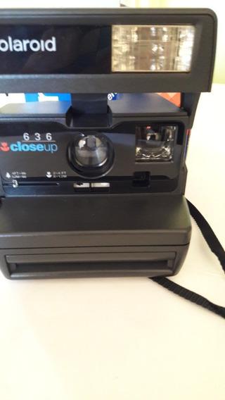 Câmera Fotográfica Polaroid Instantânea Closeup Mod 636 -em