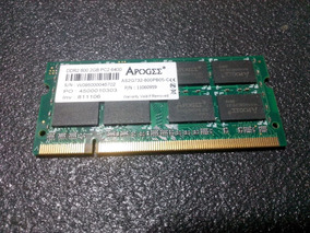 Memória Ram Apogee 2gb 800mhz Pc2 6400 Ddr2 (notebook)
