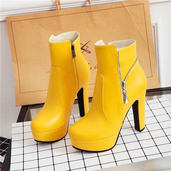 Ankle Boot Feminina Wetkiss 67958 Importado