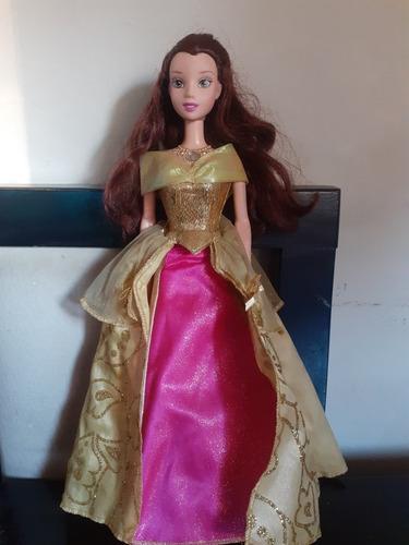 Muñeca La Bella Y La.bestia Disney Unica!2006 Luces Y Sonido